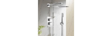 Concealed Thermostatic Shower Valves and Packs