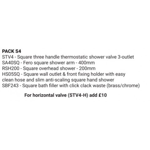 PACK S4